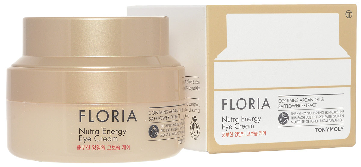 TonyMoly Крем для кожи вокруг глаз FLORIA  NUTRA Energy-EYECREAM, 30 мл эмульсия tony moly floria nutra energy essence with argan oil