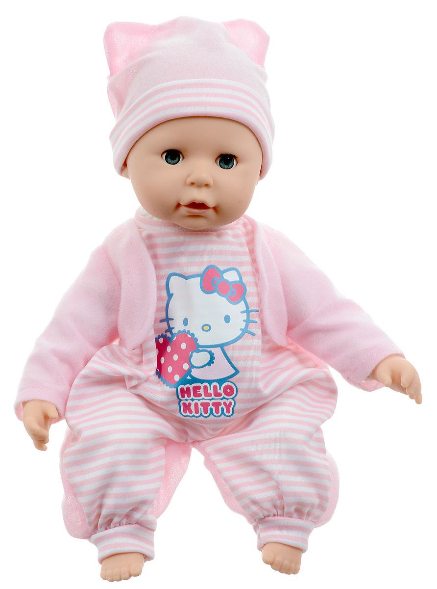купить Карапуз Пупс озвученный Hello Kitty цвет одежды розовый онлайн