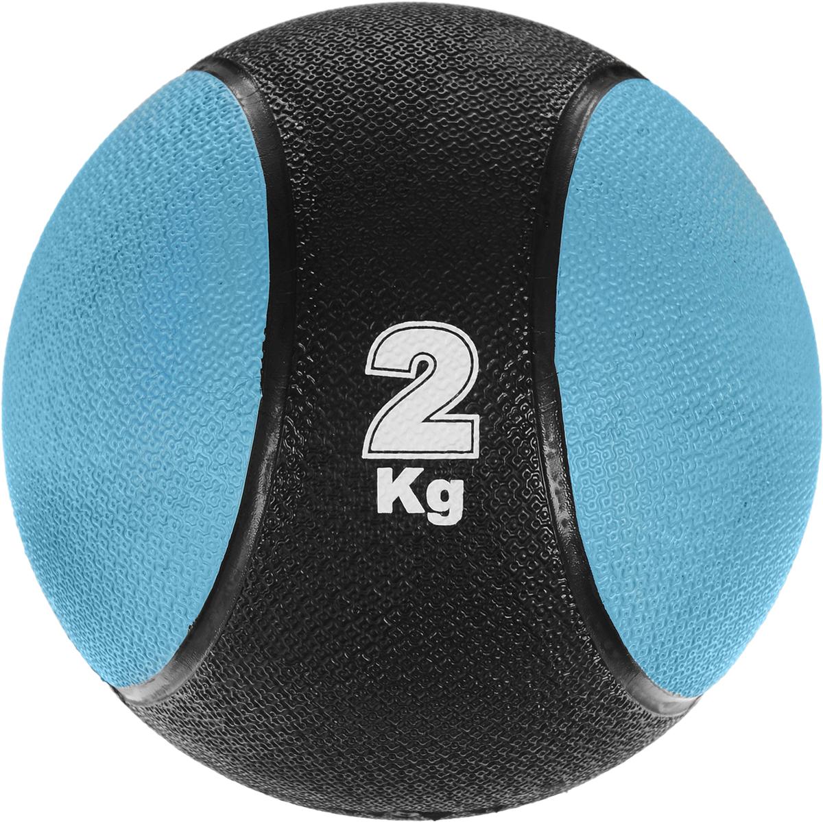Медицинбол Start Up MBR2, цвет: черный, синий, 2 кг, 19,5 см290259Медицинбол Start Up MBR2 - тренировочный мяч, который прекрасно подходит для занятий фитнесом, аэробикой или ЛФК (лечебной физкультурой). Шероховатая поверхность не дает ему выскользнуть из рук. Предназначен для укрепления мышц плечевого пояса, спины, рук и ног. Мяч выполнен из резины, наполнен также резиной.Йога: все, что нужно начинающим и опытным практикам. Статья OZON Гид