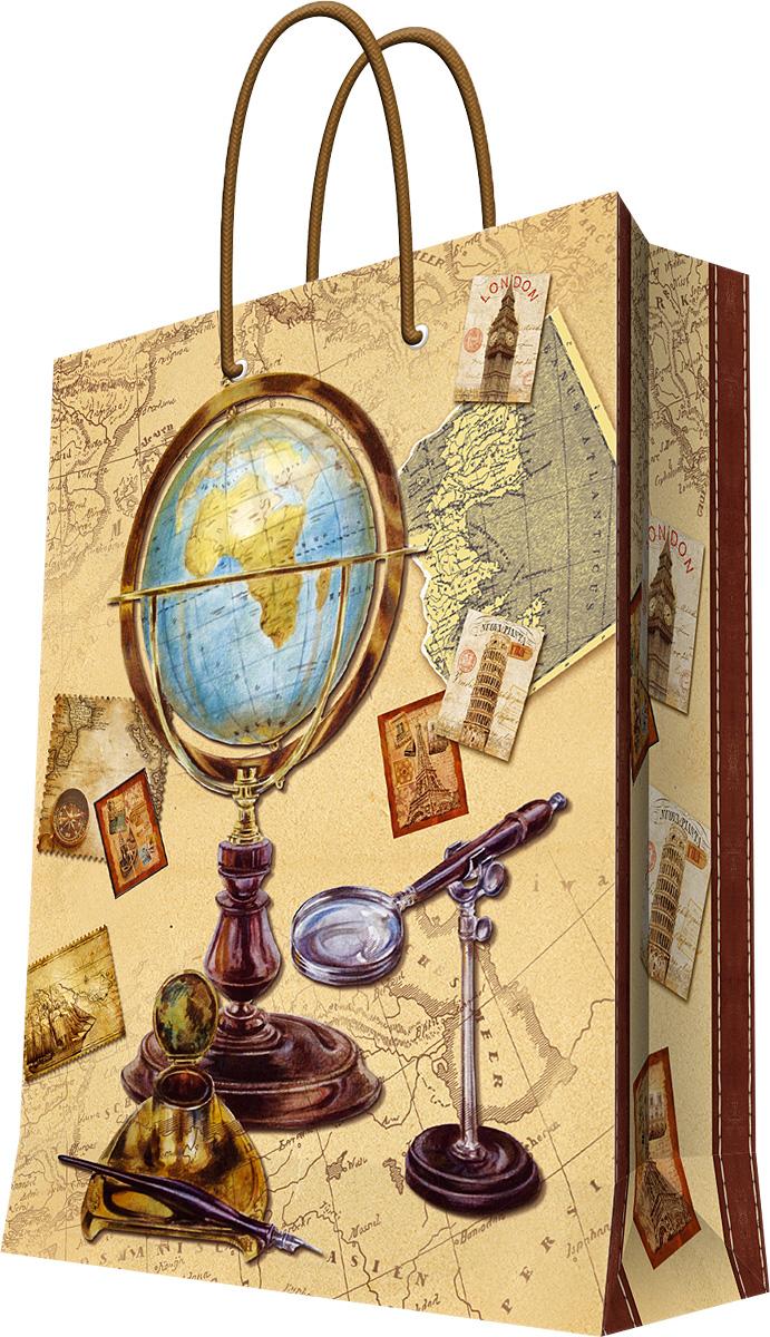 Пакет подарочный Magic Home Глобус, 17,8 х 22,9 х 9,8 см44171Бумажный подарочный пакет Magic Home Ваза с розами, изготовленный из плотной бумаги, станет незаменимым дополнением к выбранному подарку. Дно изделия укреплено картоном, который позволяет сохранить форму пакета и исключает возможность деформации дна под тяжестью подарка. Пакет выполнен с ламинацией, что придает ему прочность, а изображению - яркость и насыщенность цветов. Для удобной переноски имеются две ручки в виде шнурков. Подарок, преподнесенный в оригинальной упаковке, всегда будет самым эффектным и запоминающимся. Окружите близких людей вниманием и заботой, вручив презент в нарядном, праздничном оформлении.Плотность бумаги: 128 г/м2.
