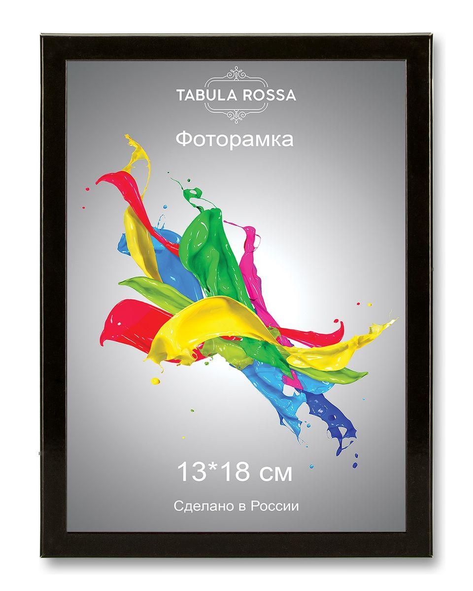Фоторамка Tabula Rossa, цвет: черный глянец, 13 х 18 см. ТР 5127 фоторамки tabula rossa фоторамка 13х18 455