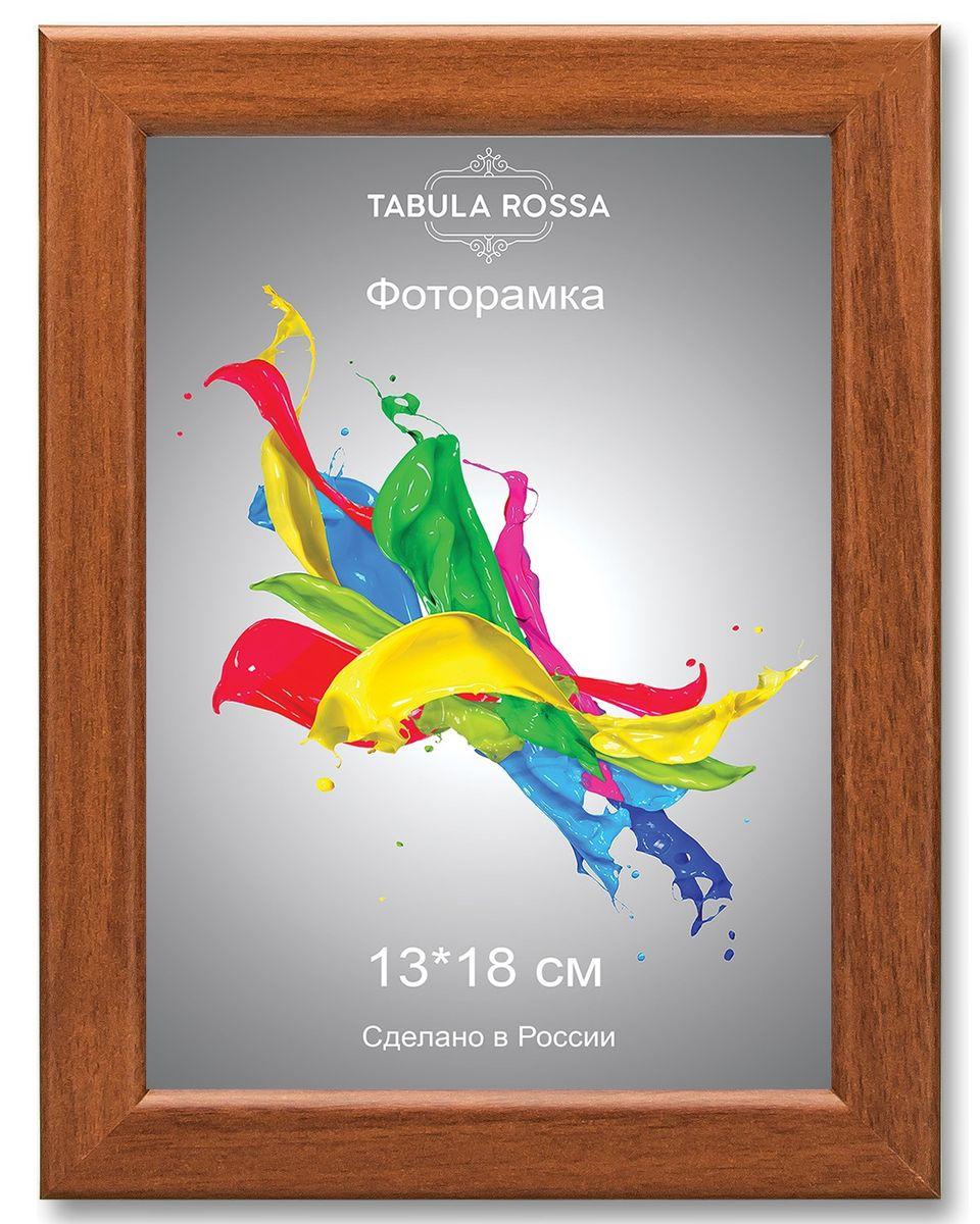 Фоторамка Tabula Rossa, цвет: орех, 13 х 18 см. ТР 5156ТР 5156Фоторамка Tabula Rossa выполнена в классическом стиле из высококачественного МДФ и стекла, защищающего фотографию. Оборотная сторона рамки оснащена специальной ножкой, благодаря которой ее можно поставить на стол или любое другое место в доме или офисе. Также изделие дополнено двумя специальными креплениями для подвешивания на стену.Такая фоторамка не теряет своих свойств со временем, не деформируется и не выцветает. Она поможет вам оригинально и стильно дополнить интерьер помещения, а также позволит сохранить память о дорогих вам людях и интересных событиях вашей жизни.