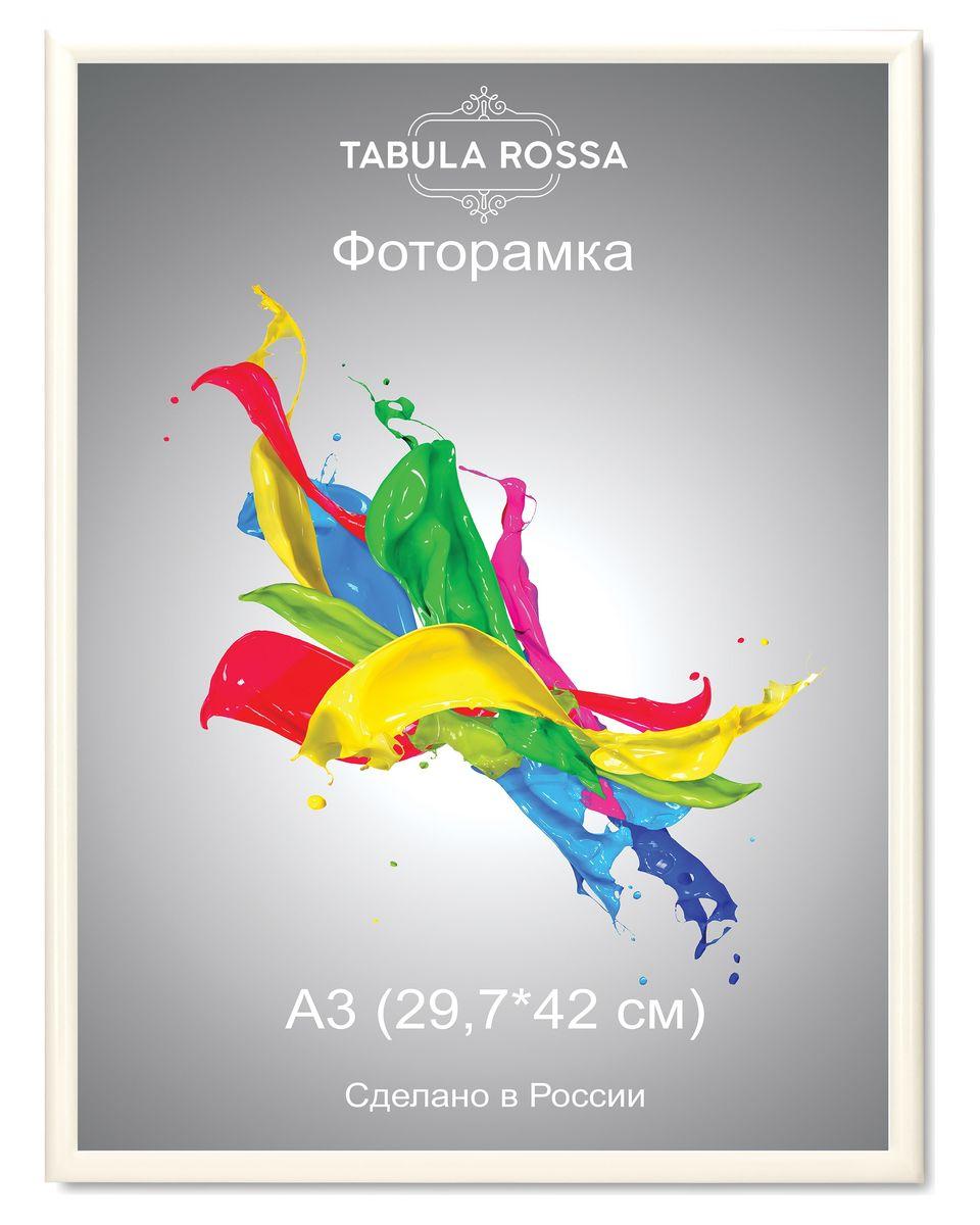 Фоторамка Tabula Rossa, цвет: белый глянец, 29,7 х 42 см. ТР 5213 фоторамки tabula rossa фоторамка 13х18 455
