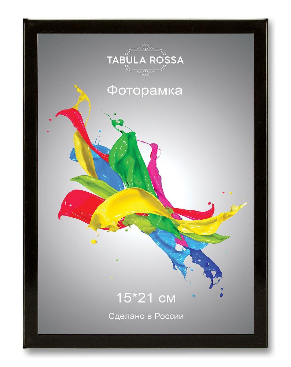 Фоторамка Tabula Rossa, цвет: черный глянец, 15 х 21 см. ТР 6009 фоторамка tabula rossa металлик цвет серебристый 21 х 30 см