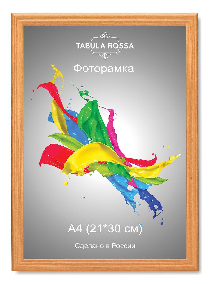 Фоторамка Tabula Rossa, цвет: ольха, 21 х 30 см. ТР 6020 фоторамка tabula rossa металлик цвет серебристый 21 х 30 см