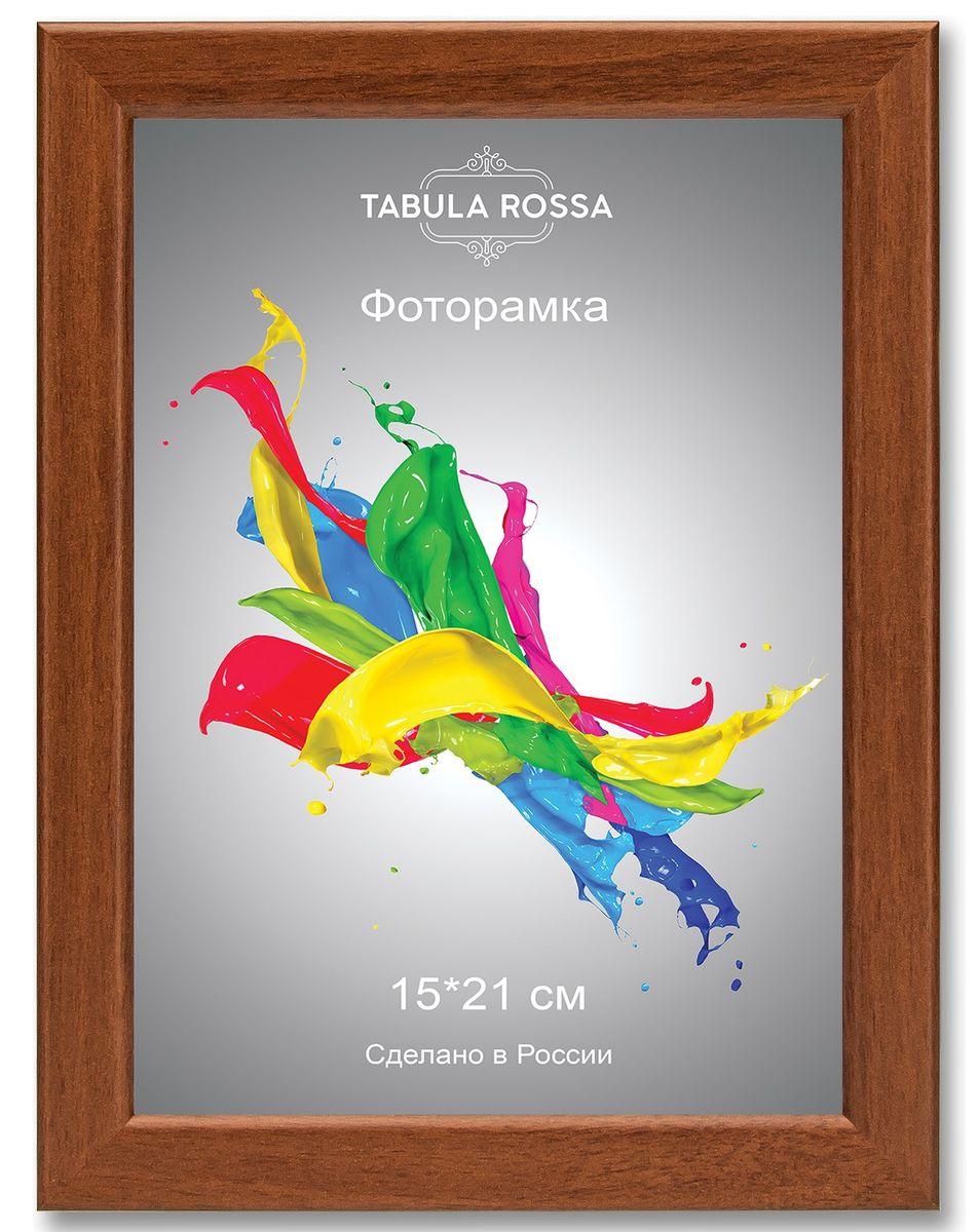 Фоторамка Tabula Rossa, цвет: орех, 15 х 21 см. ТР 6027ТР 6027Фоторамка Tabula Rossa выполнена в классическом стиле из высококачественного МДФ и стекла, защищающего фотографию. Оборотная сторона рамки оснащена специальной ножкой, благодаря которой ее можно поставить на стол или любое другое место в доме или офисе. Также изделие дополнено двумя специальными креплениями для подвешивания на стену.Такая фоторамка не теряет своих свойств со временем, не деформируется и не выцветает. Она поможет вам оригинально и стильно дополнить интерьер помещения, а также позволит сохранить память о дорогих вам людях и интересных событиях вашей жизни.