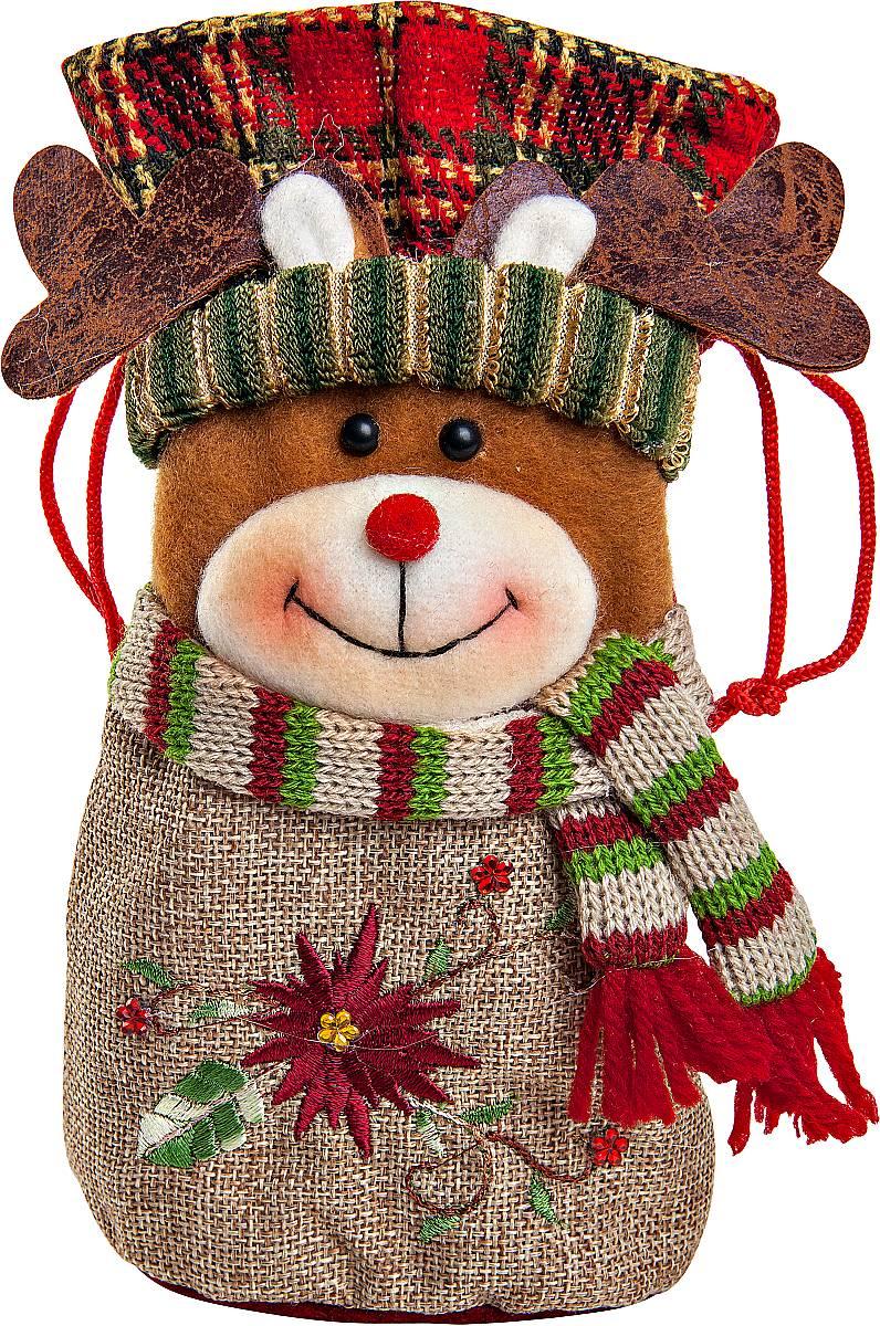 Мешок для подарков Mister Christmas ОленьCHL-368DR