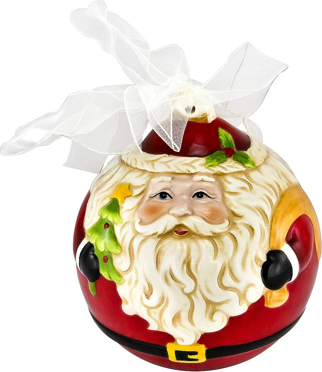 Украшение новогоднее подвесное Mister Christmas Дед Мороз, длина 13,5 смFD-02Новогоднее подвесное украшение Mister ChristmasДед Мороз прекрасно подойдет для праздничногодекора новогодней ели. Украшение выполнено изкерамики. Для удобного размещения на елкепредусмотрена петелька в виде ленты.Елочная игрушка - символ Нового года. Она несет в себеволшебство и красоту праздника. Создайте в своем домеатмосферу веселья и радости, украшая новогоднюю елкунарядными игрушками, которые будут из года в годнакапливать теплоту воспоминаний.