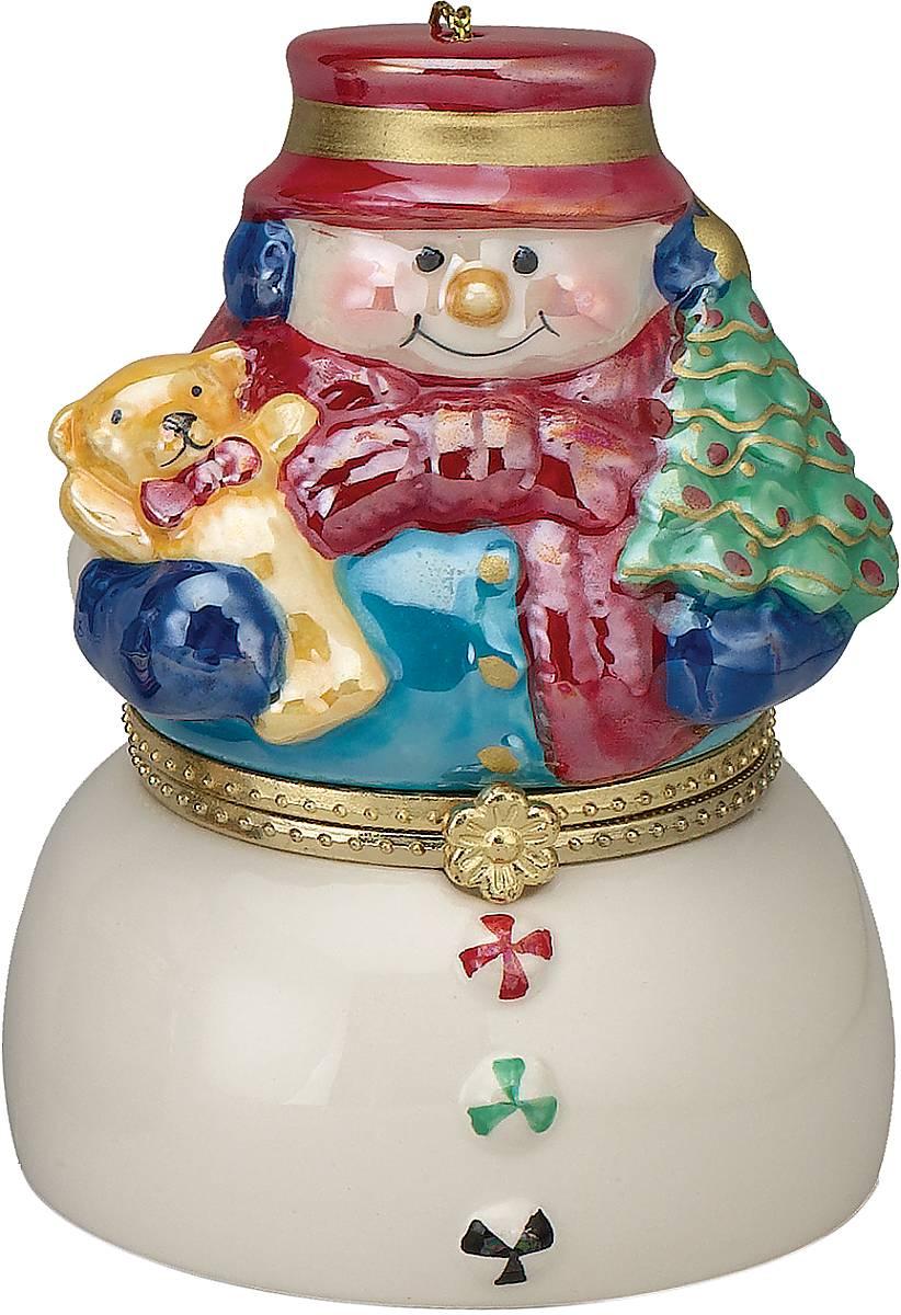 Композиция музыкальная Mister Christmas Снеговик, высота 11 см шкатулки mister christmas композиция музыкальная