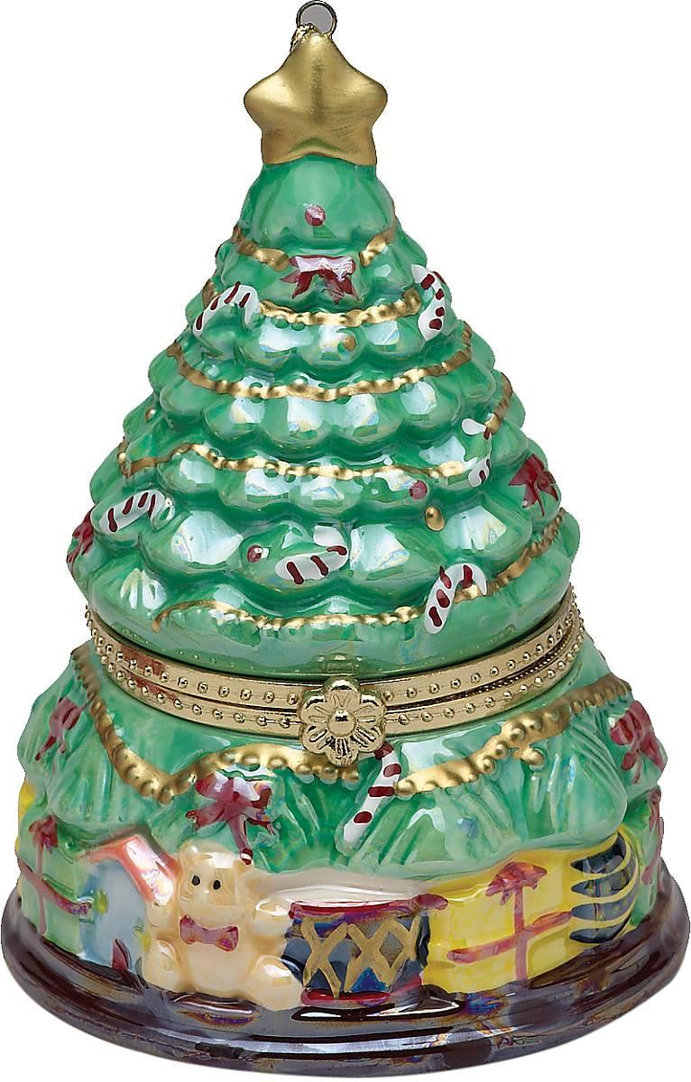 Композиция музыкальная Mister Christmas Елочка, высота 11 смG16323Новогодняя музыкальная композиция Mister Christmas Елочка станет оригинальным презентом на праздник. Внутри сувенира разворачивается анимированная новогодняя сценка, которая сопровождается приятной рождественской мелодией. Сувенир сделан исключительно из качественных материалов и покрыт стойкими красками. Новогодние украшения всегда несут в себе волшебство и красоту праздника. Создайте в своем доме атмосферу тепла, веселья и радости, украшая его всей семьей.Высота композиции: 11 см.