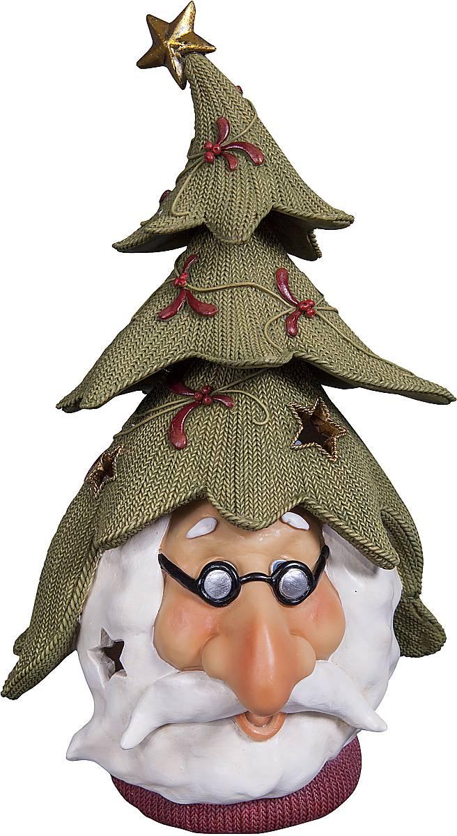 Статуэтка Mister Christmas Дед Мороз, высота 24,5 см. SM-4ASM-4AСтатуэтка Mister Christmas Дед Мороз выполнена из полистоуна в виде головы Деда Мороза. Она привлекает к себе внимание и буквально умиляет, заставляя улыбнуться.Такой сувенир станет отличным подарком родным или друзьям на Новый год, а также он украсит интерьер вашего дома или офиса.Высота статуэтки: 24,5 см.