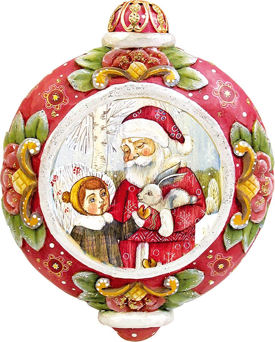 Украшение новогоднее подвесное Mister Christmas, коллекционное, высота 10 см. US 61024-31US 61024-31Коллекционное украшение Mister Christmas Олени прекрасно подойдет для праздничного декора вашего дома. Изделие выполнено из полистоуна и оснащено креплением для подвешивания на елку. Новогодние украшения несут в себе волшебство и красоту праздника. Они помогут вам украсить дом к предстоящим праздникам и оживить интерьер. Создайте в доме атмосферу тепла, веселья и радости, украшая его всей семьей.Кроме того, такая игрушка станет приятным подарком, который надолго сохранит память этого волшебного времени года.Высота украшения: 10 см.