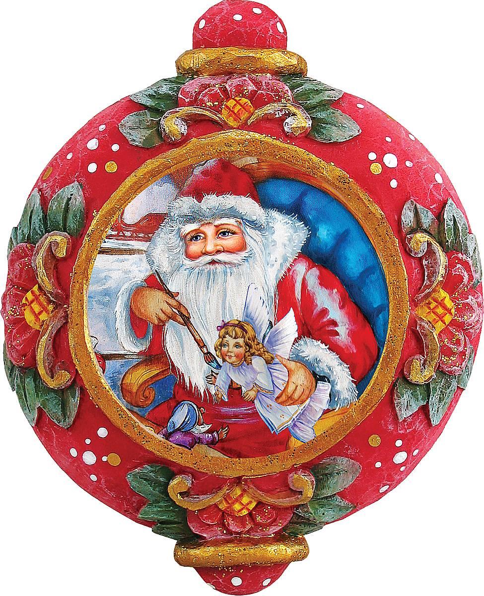 Украшение новогоднее подвесное Mister Christmas Дед Мороз, коллекционное, высота 10 смUS 6102415Коллекционное украшение Mister Christmas Дед Мороз прекрасно подойдет для праздничного декора вашего дома. Изделие выполнено из полистоуна и оснащено креплением для подвешивания на елку. Новогодние украшения несут в себе волшебство и красоту праздника. Они помогут вам украсить дом к предстоящим праздникам и оживить интерьер. Создайте в доме атмосферу тепла, веселья и радости, украшая его всей семьей.Кроме того, такая игрушка станет приятным подарком, который надолго сохранит память этого волшебного времени года.Высота украшения: 10 см.