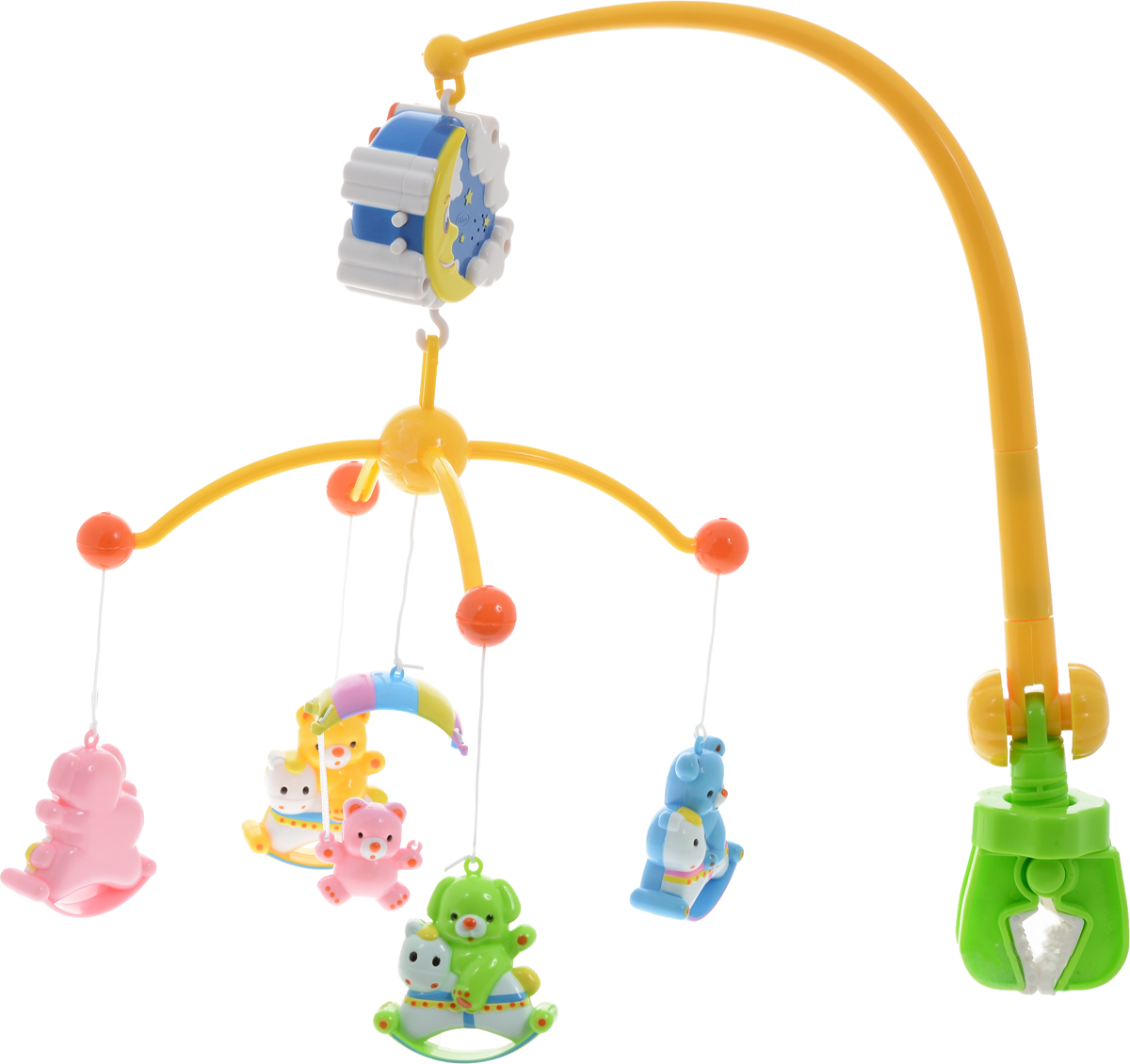 Умка Мобиль Музыкальная карусель с колыбельными песнями - Игрушки для малышей