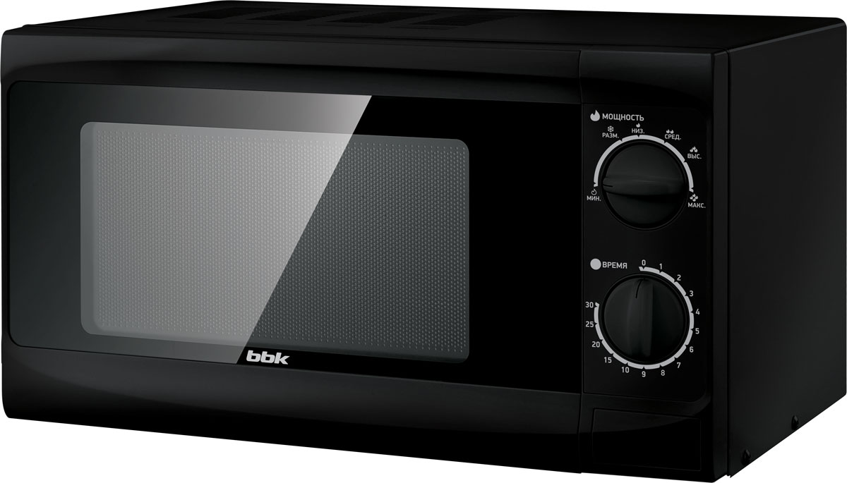 BBK 20MWS-706M/B, Black СВЧ-печь - Микроволновые печи