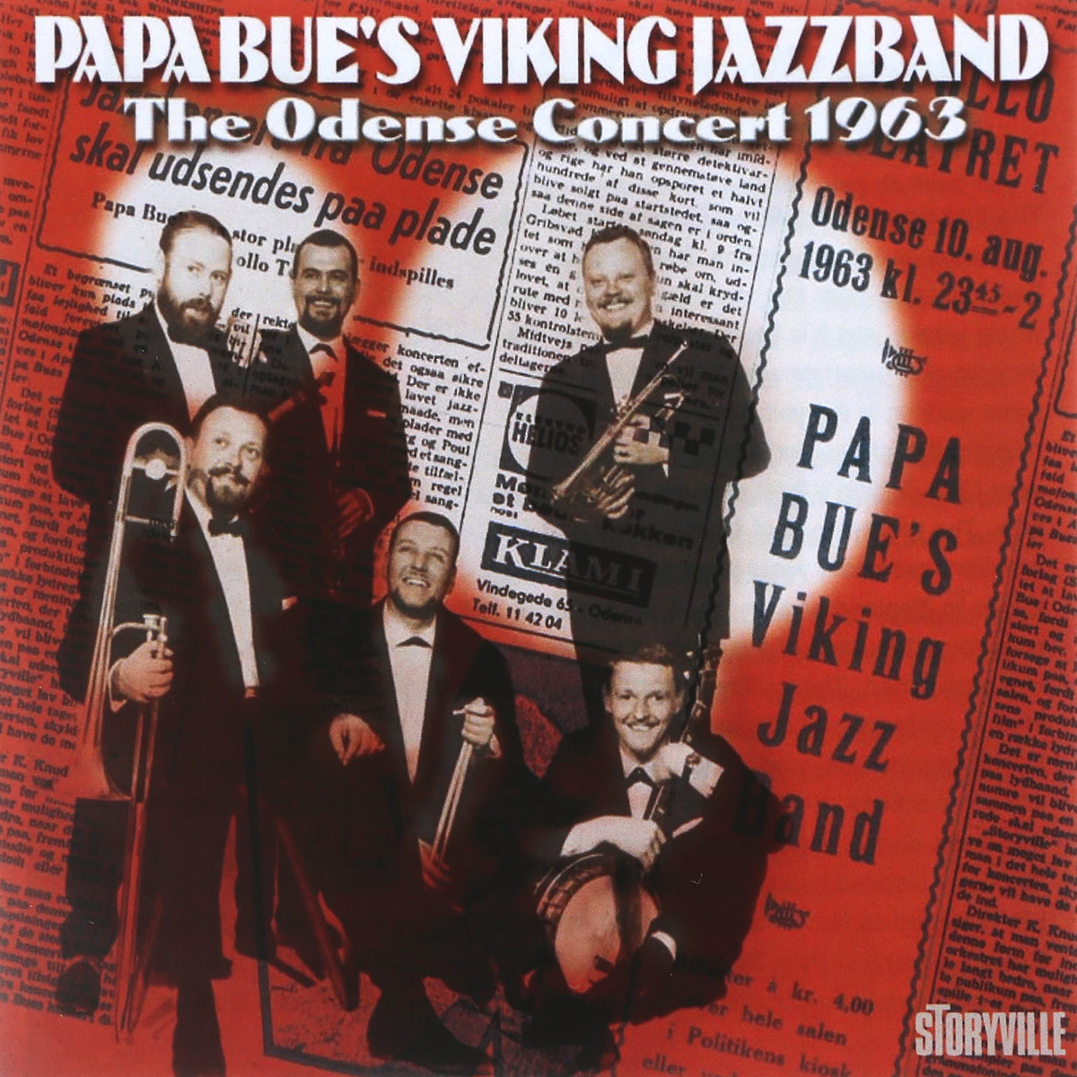 Papa Bue's Viking Jazz Band Papa Bue's Viking Jazz Band. The Odense Concert 1963