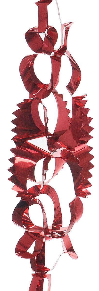 Гирлянда новогодняя Winter Wings, цвет: красный, 15 см х 2,7 мN09014_красныйНовогодняя декоративная гирлянда Winter Wings прекрасно подойдет для декора дома ипраздничной елки. Украшение выполнено из ПВХ. Новогодние украшения несут в себе волшебство икрасоту праздника. Они помогут вам украсить дом кпредстоящим праздникам и оживить интерьер по вашемувкусу. Создайте в доме атмосферу тепла, веселья ирадости, украшая его всей семьей.
