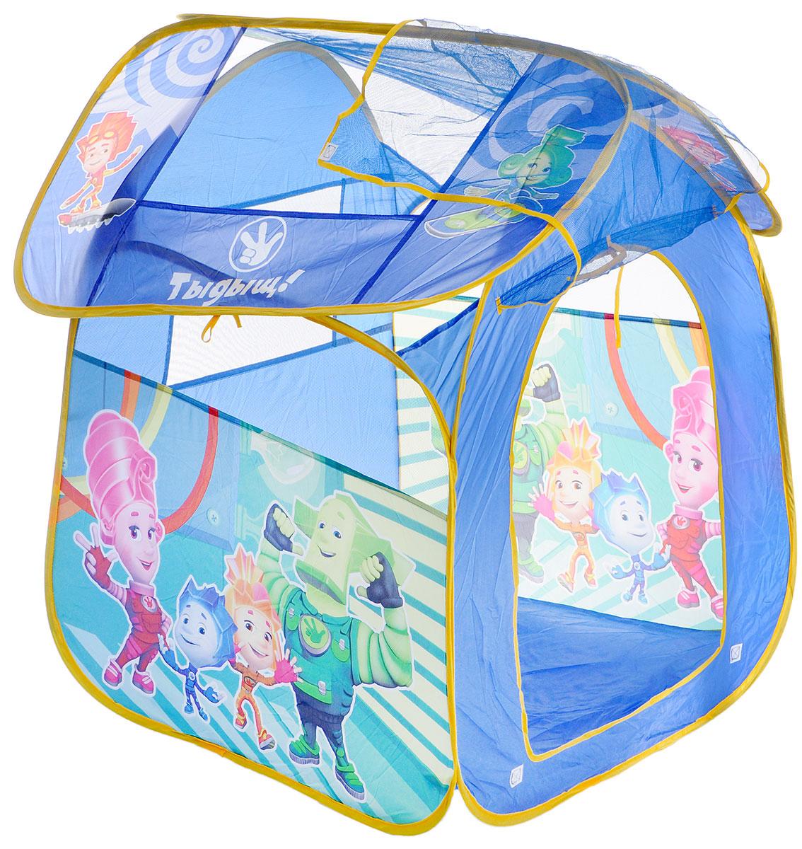 Играем вместе Детская игровая палатка Фиксики 83 х 80 х 105 см