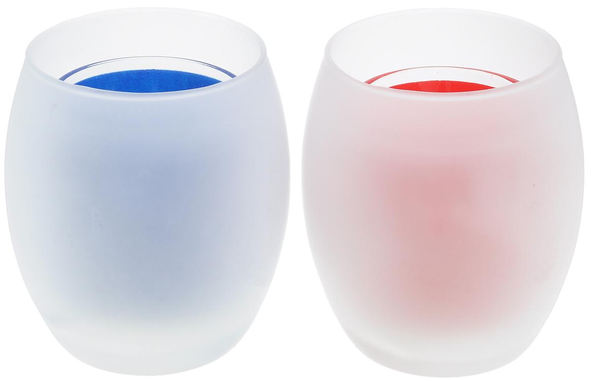 Набор подсвечников Lovemark Силуэт на замерзшем окне, со свечами, 4 предмета100902Набор Lovemark Силуэт на замерзшем стекле состоит из 2 стеклянных подсвечников с внутренней емкостью для свечи. Подсвечники сочетают в себе изысканный дизайн с максимальной функциональностью.Такие подсвечники оригинально украсят интерьер вашего дома или рабочего кабинета и создадут атмосферу романтики и уюта.Диаметр подсвечника по верхнему краю: 6,5 см. Высота подсвечника: 9 см.Размер свечи: 3,2 х 3,2 х 1,5 см.
