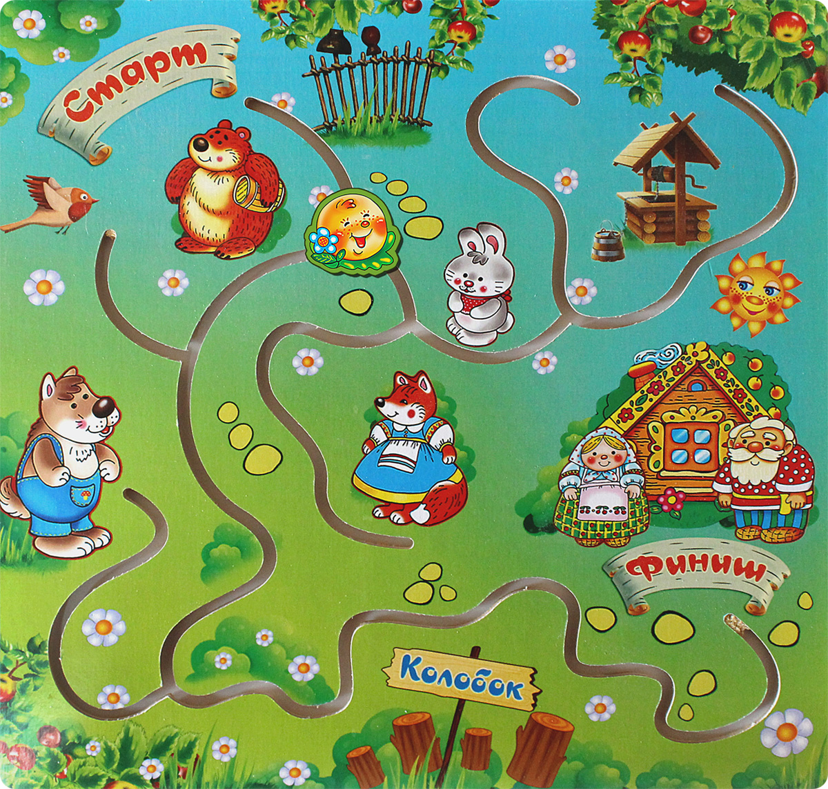 Фабрика Мастер игрушек Обучающая игра Колобок фабрика мастер игрушек пазл для малышей принцесса