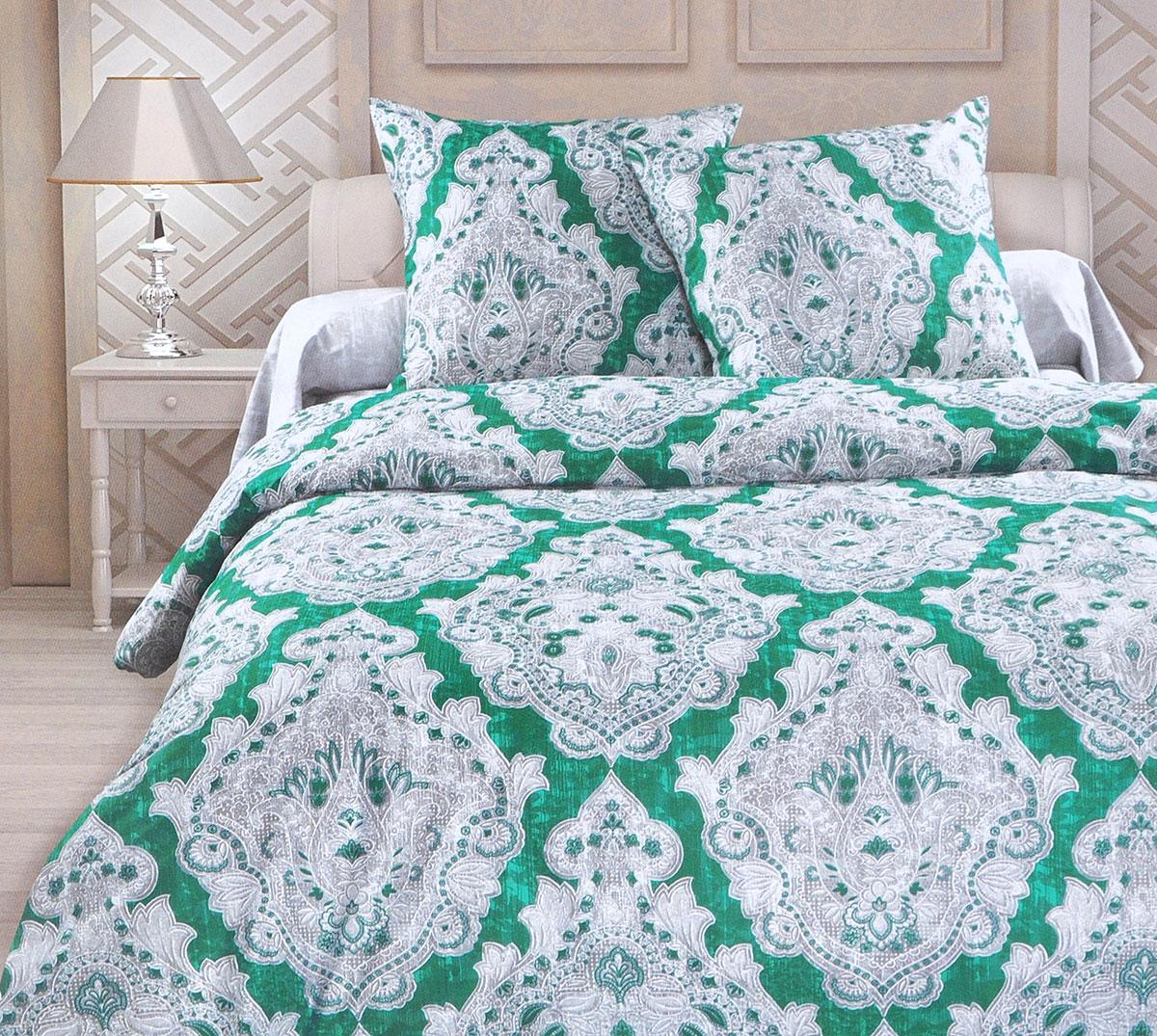 Комплект белья Унисон Маркиза, 1,5-спальный, наволочки 70x70 постельное белье унисон комплект постельного белья 2 0 биоматин руан