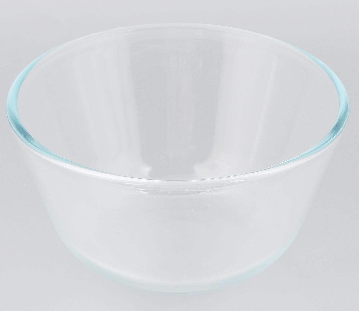 """Миска """"VGP"""" изготовлена из термостойкого и экологически чистого стекла. Предназначена для приготовления пищи в духовке, жарочном шкафу и микроволновой печи. Миска прекрасно подойдет для хранения и замораживания различных продуктов, а также для сервировки и декоративного оформления праздничного стола.Миска """"VGP"""" станет незаменимым аксессуаром на кухне для любой хозяйки.Можно мыть в посудомоечной машине. Высота стенки: 9,5 см. Диаметр миски (по верхнему краю): 17 см."""