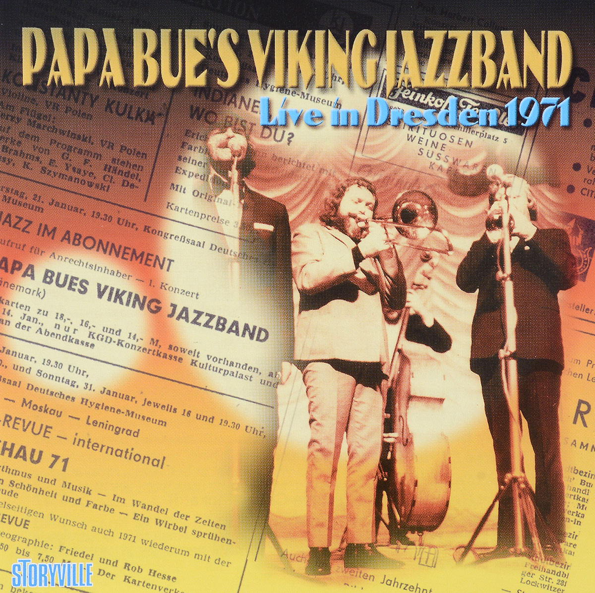 Papa Bue's Viking Jazz Band Papa Bue's Viking Jazz Band. Live In Dresden 1971 пазл ravensburger рысью в прибое 1500 элементов