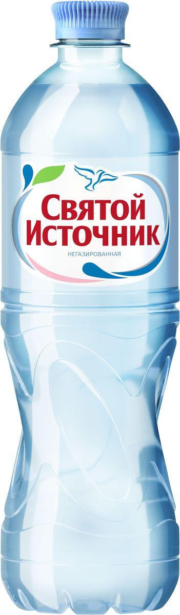 СвятойИсточник вода природная питьевая негазированная, 0,75 л вода святой источник спортик негазированная