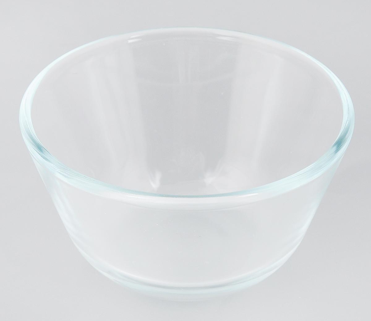 """Миска """"Sсovo"""" изготовлена из термостойкого и экологически чистого стекла. Предназначена для  приготовления пищи в духовке, жарочном шкафу и  микроволновой печи. Миска прекрасно подойдет для хранения и замораживания различных  продуктов, а также для сервировки и декоративного оформления  праздничного стола. Миска """"Sсovo"""" станет незаменимым аксессуаром на кухне для любой хозяйки. Можно мыть в посудомоечной машине.  Высота стенки: 6,5 см.  Диаметр миски (по верхнему краю): 12,5 см."""
