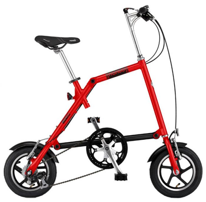 Велосипед складной Nanoo-127, 7 скоростей, цвет: красныйNANOO-127_15_redНовый, удивительный, компактный, забавный, маневренный и шустрый велосипед - созданный для покорения безумной жизни мегаполиса совсем скоро может стать вашим! Благодаря последним разработкам, уникальной конструкции и продуманному итальянскому дизайну, вы можете добраться в любую точку города быстро, легко и стильно! Тысячи европейцев уже оценили эту потрясающую новинку. Теперь и у вас есть такая возможность! Рама: алюминиевая, колеса диаметра 12Руль: алюминиевый, складной регулируемыйСедло: анатомическое муж/женТрансмиссия: 7-скоростная SHIMANOТормоза: v-brakeПедали: складныеПодножка: алюминиевая на пружинеВес: 12 кг