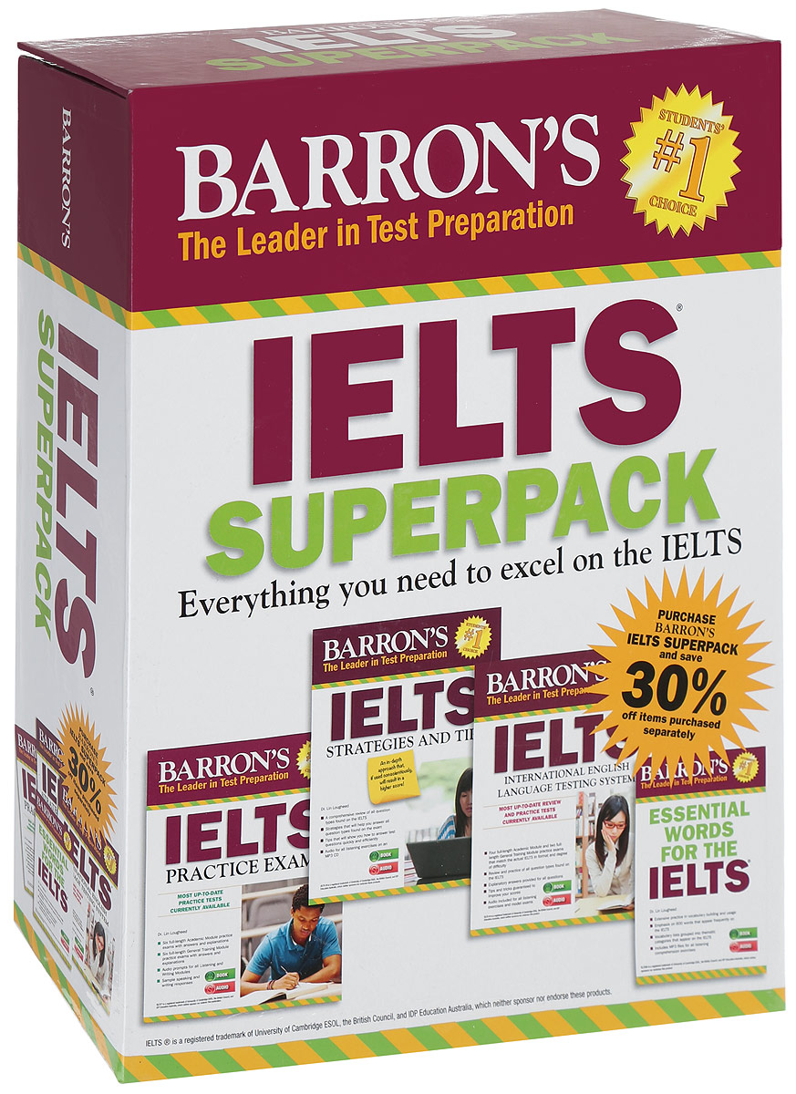 IELTS Superpack (+ 5 CD)