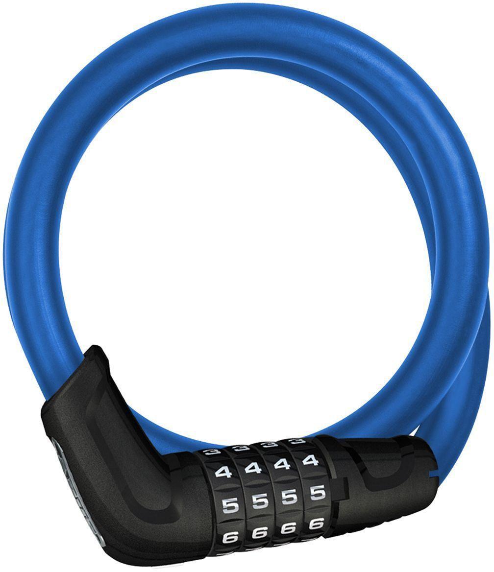 Велозамок кодовый Abus Primo 5412C/85/12, цвет: голубой, диаметр 12 мм, длина 85 см165696_ABUSВелосипедный замок Abus Primo 5412C/85/12 - это отличная вещь для сохранности вашего велосипеда. Замок, выполненный из прочного пластика, оснащен стальным тросом обтянутым мягким ПВХ. Блокируется при помощи кода.Диаметр троса: 12 мм.Длина: 85 см.Уровень защиты: 3.Гид по велоаксессуарам. Статья OZON Гид