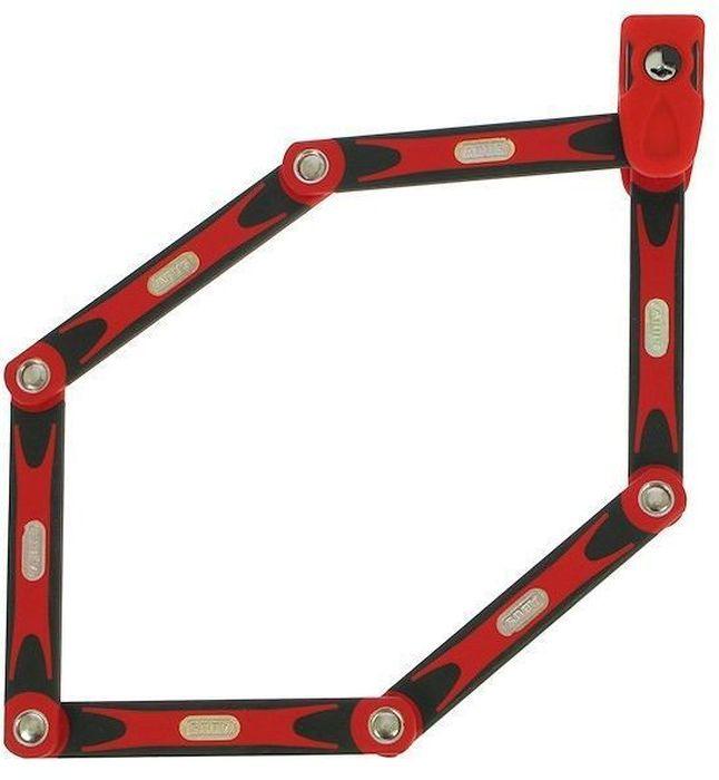 Велозамок Abus Bordo BIG 6000/120, с ключами, цвет: красный541292_ABUSAbus Bordo 6000 - это cегментный замок из стальных пластин на подвижных шарнирах, который позволяет сочетать надежность U-замка и удобство цепи. Именно благодаря такому компромиссу замок получил огромную популярность в велосипедистов.Особенности: шесть стальных пластин толщиной 5 мм.Гибкое соединение пластин обеспечивает компактное транспортировки.Пластины и корпус замка изготовлены из специальной закаленной стали.Пластины надежно соединены специальными шарнирами.Цилиндр замка высочайшего качества для надежной защиты против интеллектуальных методов взломаПолимерное покрытие пластин для защиты краски вашего велосипеда.Легкий чехол замка фиксируется на место флягодержателя. Размеры: длина: 1200 мм, толщина: 5 мм ммГид по велоаксессуарам. Статья OZON Гид