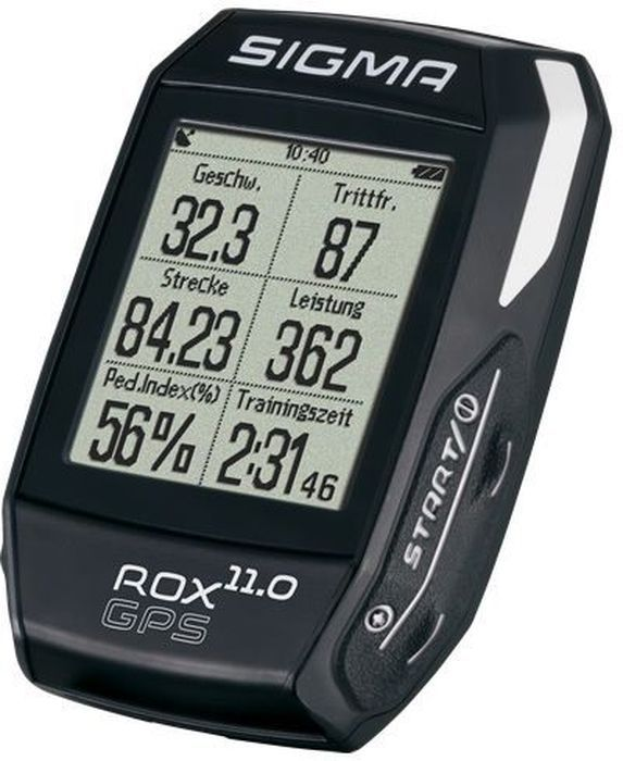 Велокомпьютер Sigma ROX 11.0 GPS Black Set