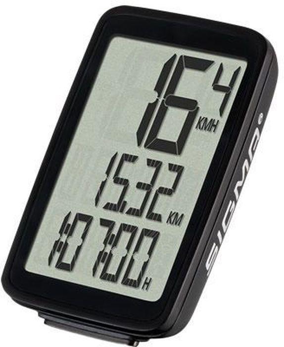 Велокомпьютер Sigma PURE 1, 5 функций, цвет: черныйSIG_03100Технические характеристикиАвтовключениеАвтоматический старт / стопМонтаж без инструментов УФСБ 2016- совместимыводонепроницаемыйфункции велосипедаТекущая скоростьВремя в путиОбщее расстояниеОбщее время езды