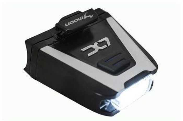 Фонарь передний Moon LX-100, 1 диод, 6 режимов, USB вульф вирджиния на маяк