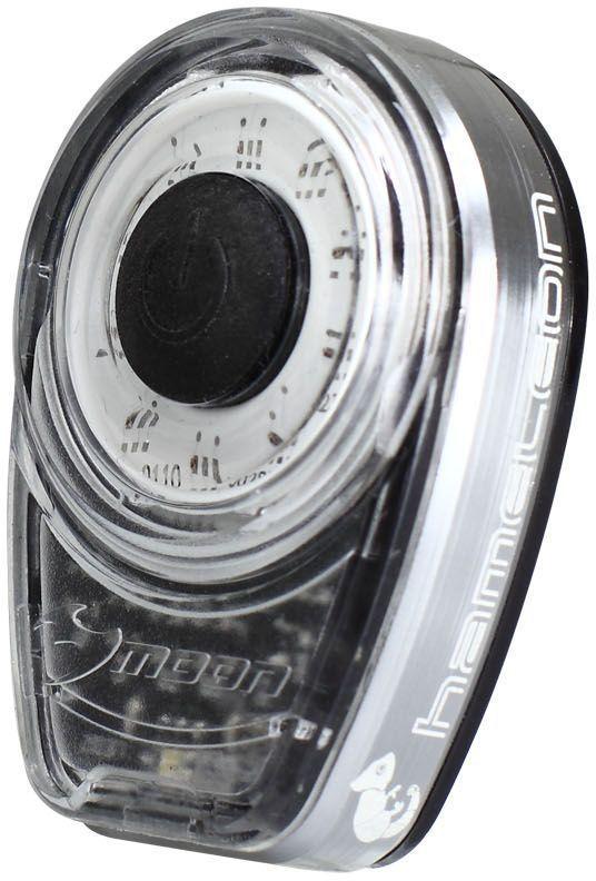 Фонарь универсальный Moon Ring_Cham, 1 диод, 8 режимов, 5 цветовWP_Ring_Cham_CФонарь универсальный Moon Ring_Cham имеет 1 диод и 8 режимов работы. Особенности:- 1 плата из 15 диодов расположенных кругом, сверх яркое разноцветное свечение- Алюминиевый корпус с отводом тепла- Литий Полимер аккумулятор (3.7V 280mAh)- USB порт- 6 режимов: Стандарт / Высоко / Максимум / 20% Вспышка /100% Вспышка /Стробоскоп- Быстросъемное крепление RB-22 (установка на любой руль)- 2 O-rings для крепления :RS-G (для 20-35mm диаметра); RS-H (для 35-52mm диаметра)- Индикатор разряда, зарядки и полной зарядки аккумулятора- Функция автоматического отключения при полной зарядке- Боковая заметность - Влагозащищенный (IPX 4)- Возможность крепления на ремни (рюкзаки, багажные сумки и т.д)