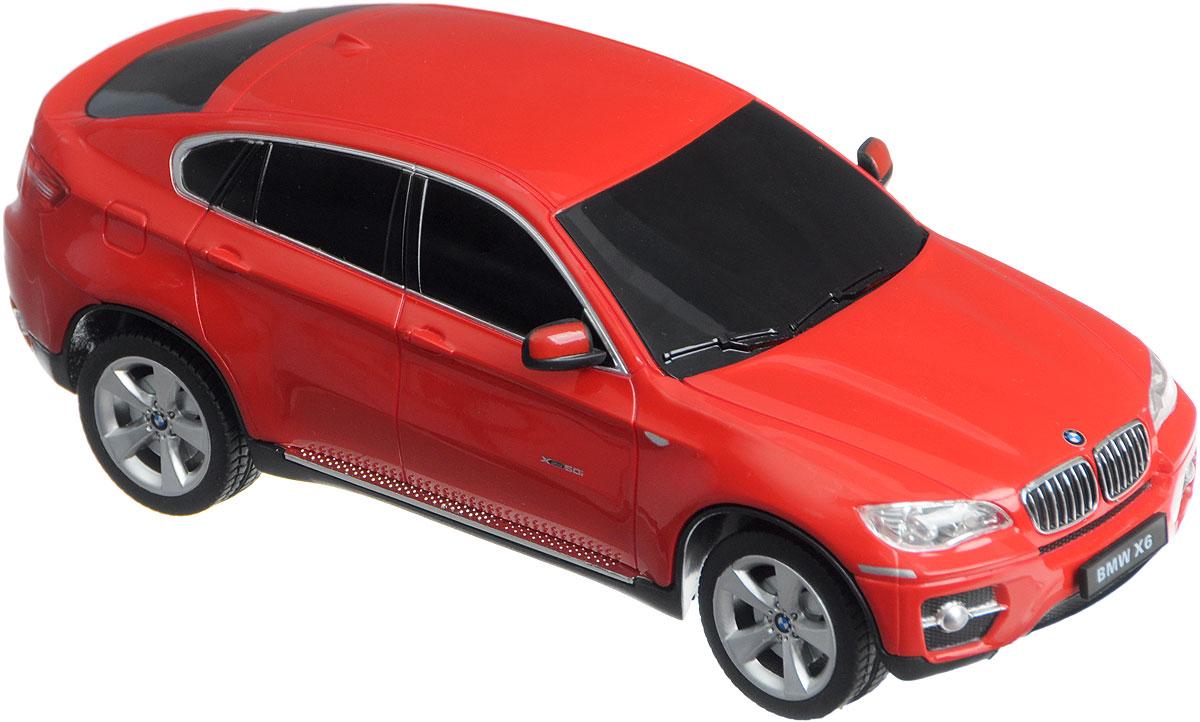 Rastar Радиоуправляемая модель BMW X6 цвет красный масштаб 1:24