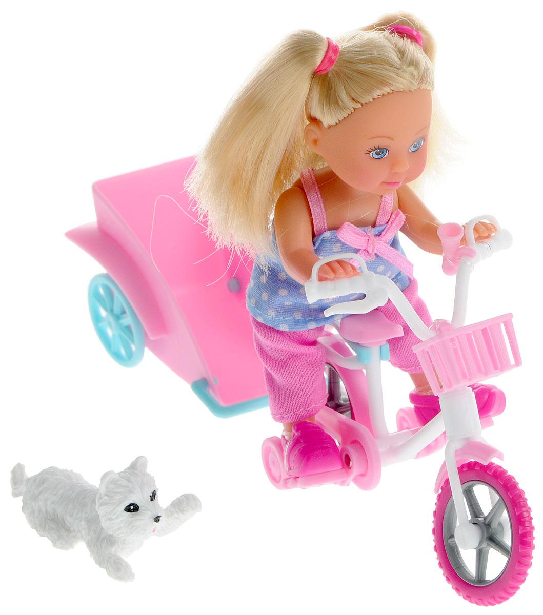 Simba Игровой набор с мини-куклой Bike Tour