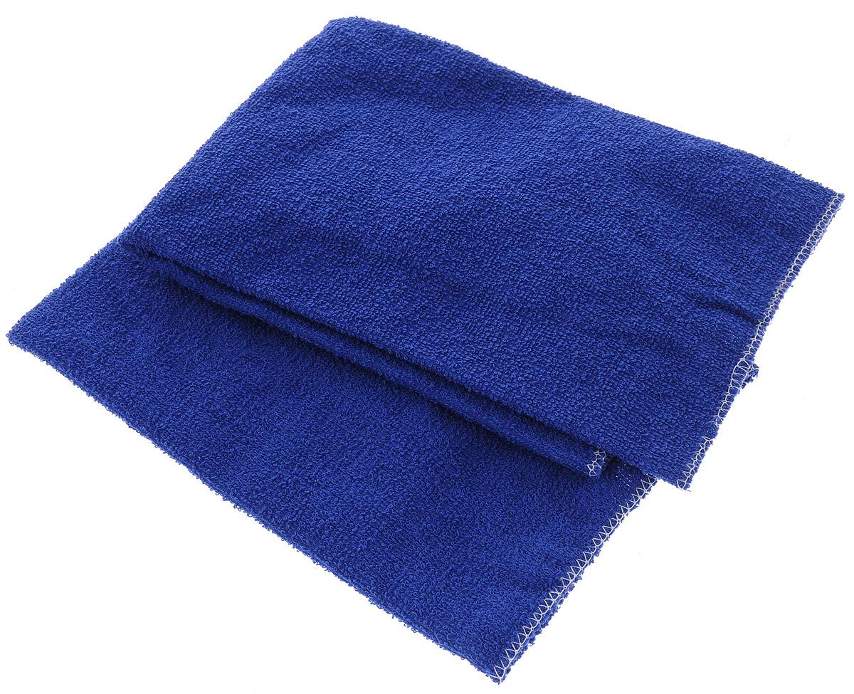 Салфетка автомобильная Главдор, для мойки и полировки, цвет: синий, 39 х 39 см, 2 штGL-89-003Салфетки Главдор выполнены из мягкой махровой ткани (100% хлопок). Изделия хорошо подходят для удаления пыли, нанесения очистителей и полиролей, также используются для располировки автомобильной косметики на любых поверхностях автомобиля. Можно стирать, многократного применения. Комплектация: 2 шт.