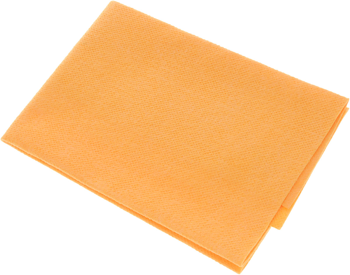 цена на Салфетка автомобильная Главдор, цвет: оранжевый, 40 х 50 см