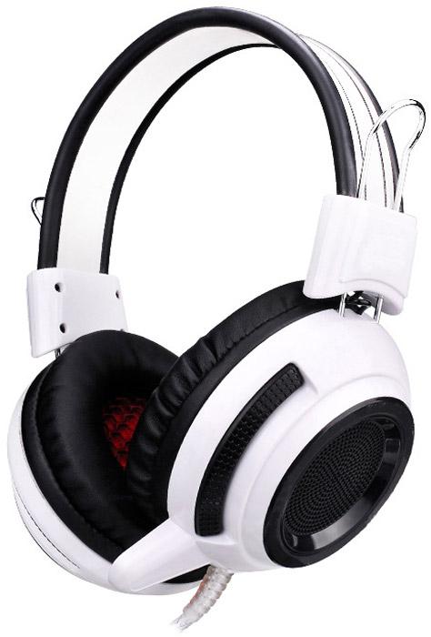 Oklick HS-G300, White Black игровые наушники гайковерт makita tw0350