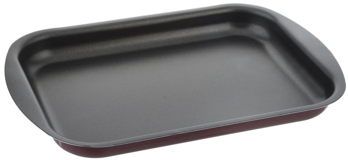 """Противень Scovo """"Expert"""" изготовлен из алюминия с антипригарным покрытием. Внутреннее покрытие Quantum2 Whitford исключает прилипание пищи к поверхности посуды даже с минимальным количеством масла. Покрытие не содержит PFOA, соединений кадмия и свинца, поэтому посуда абсолютно безопасна для здоровья. Внешнее покрытие Piroskan Whitford отличается исключительной термостойкостью и долговечностью.  Противень предназначен для использования в духовке. Можно мыть в посудомоечной машине."""