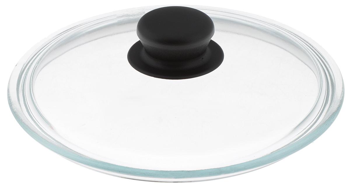 """Крышка """"Sсovo"""" изготовлена из термостойкого и экологически чистого стекла с пластиковой ручкой. Изделие удобно в использовании и позволяет контролировать процесс приготовления пищи.  Диаметр крышки: 20 см. Диаметр ручки: 4,5 см. Высота ручки: 2,5 см."""