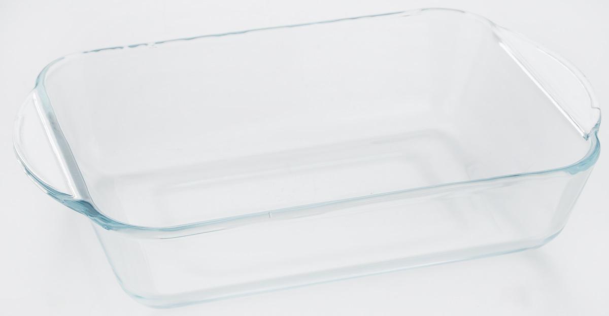 """Форма для запекания """"VGP"""" изготовлена из термостойкого, экологически чистого боросиликатного стекла. Изделие выдерживает температуру от -40°С до +300°С. Не содержит кадмия и свинца. Толстые стенки изделия позволяют пище готовиться быстро и равномерно.  Форма предназначена для приготовления пищи в духовке, жарочном шкафу и микроволновой печи, пригодна для хранения и замораживания различных продуктов, а также для сервировки пищи."""