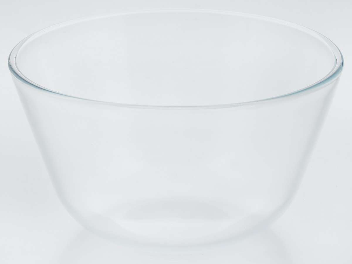 """Миска """"VGP"""" изготовлена из термостойкого и экологически чистого стекла. Предназначена для приготовления пищи в духовке, жарочном шкафу и микроволновой печи. Миска прекрасно подойдет для хранения и замораживания различных продуктов, а также для сервировки и декоративного оформления праздничного стола.Миска """"VGP"""" станет незаменимым аксессуаром на кухне для любой хозяйки.Можно мыть в посудомоечной машине. Высота стенки: 13 см. Диаметр миски (по верхнему краю): 22,5 см."""