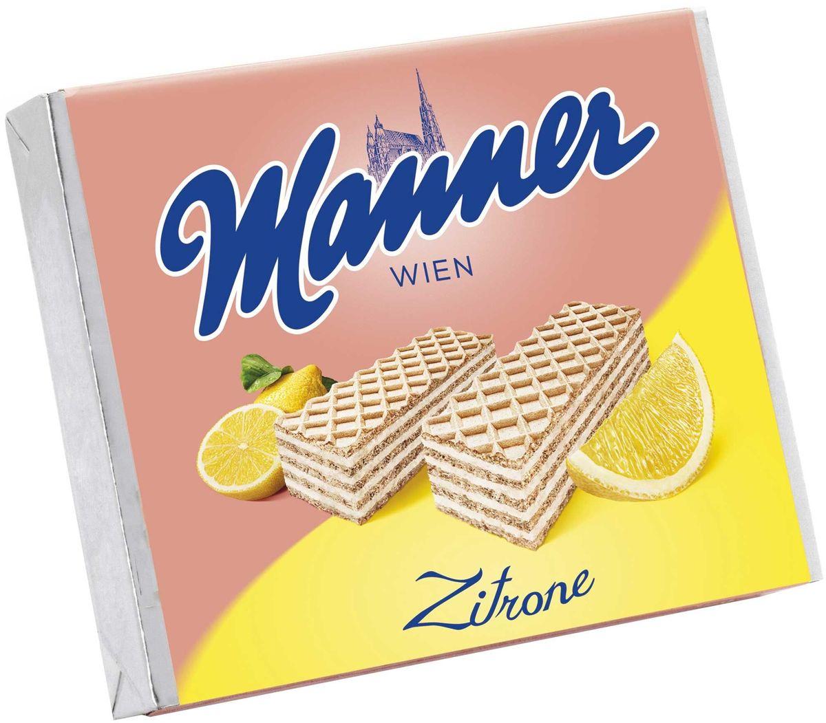 Manner вафли с лимонным кремом, 75 гидж002Josef Manner and Comp - крупнейший в Австрии производитель вафель. Кондитерская продукция высшего качества. Вкус Вены - Собор Святого Стефана на упаковке - зарегистрированная торговая марка. Фирменный цвет компании розовый. Производится только в Австрии. Контроль процесса от выращивания какао бобов до шоколадной плитки. Оригинальные рецепты. Уникальный и узнаваемый вкус.Уважаемые клиенты! Обращаем ваше внимание на то, что упаковка может иметь несколько видов дизайна. Поставка осуществляется в зависимости от наличия на складе.