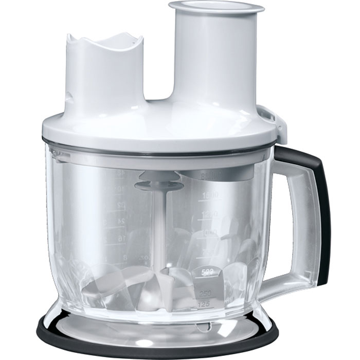 Braun MQ70 Food Processor Att MQ5 Series, White емкость для блендера wavelets processor