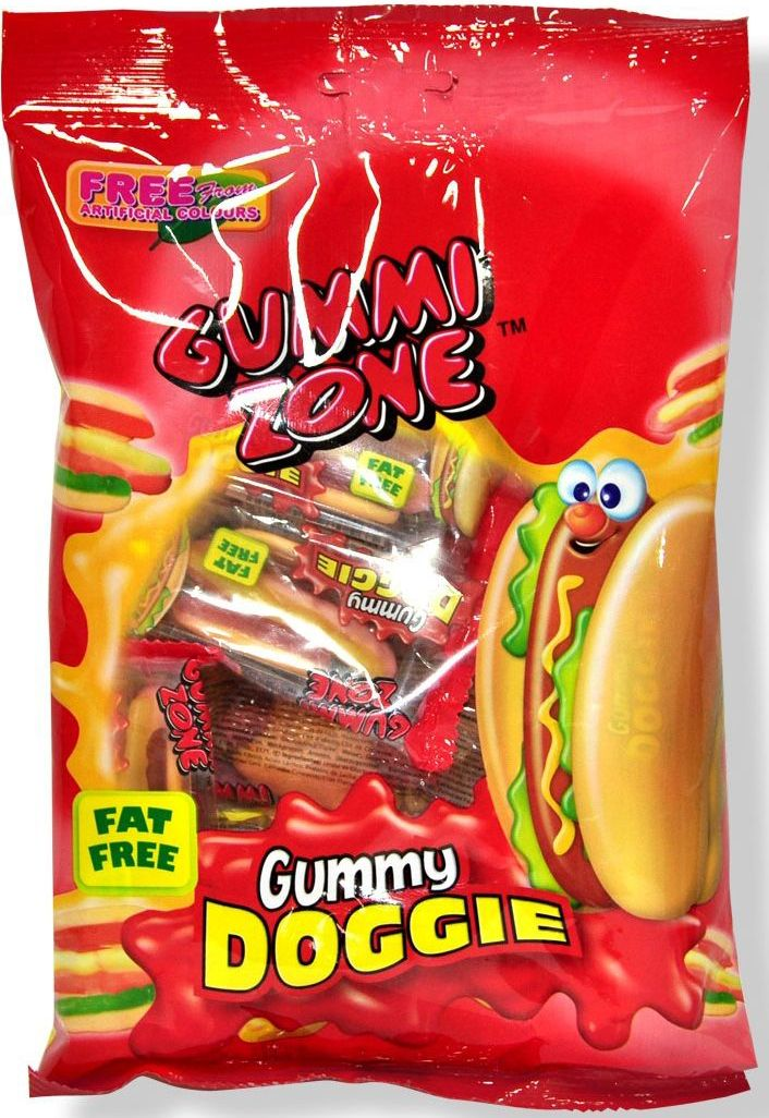 Фото Gummy Zone мармелад хот дог в пакетах, 99 г