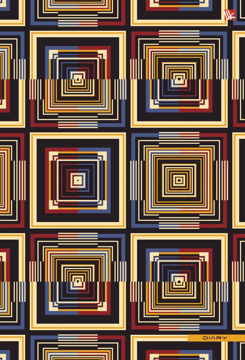 Канц-Эксмо Ежедневник Орнамент Геометрия стиля недатированный 128 листов формат А5+ ежедневник недатированный 128 листов графика акварельный орнамент 128л а5 канц эксмо